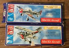 vintage mini kit aircraft , construction toy  NEW