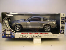 SHELBY 1:18 SCALE DIECAST METAL SILVER GRAY 2008 FORD SHELBY CS6 MUSTANG
