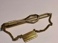 VINTAGE ROLLED GOLD PLATE TIE CLIP/CLASP