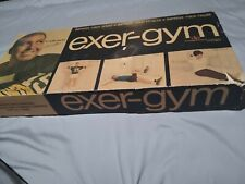 New listing Bart Starr Exer-Gym Adjustable Tension Exerciser Fitness Made USA  w Booklet