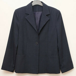 EWM blue mix coloured jacket long sleeve lenght  size 12 smart wear