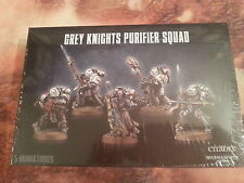 WARHAMMER 40K GREY KNIGHTS PURIFIER SQUAD - NEW & SEALED