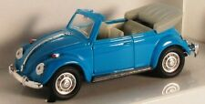 K-LINE 1967 VW Beetle Cabriolet (Blue) 1/43 Scale Diecast Model NEW, RARE! Nice!