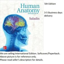 Human Anatomy 5th Edition by Kenneth S. Saladin