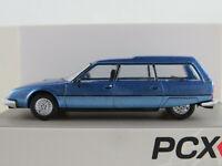 PCX87 870082 Citroën CX Break (1975-1985) in blaumetallic 1:87/H0 NEU/OVP