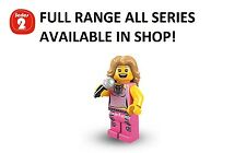 Lego minifigures pop star series 2 (8684) unopened new factory sealed