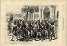 1877 Detachment Of Turkish Irregulars Province Of Aidin