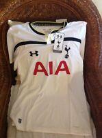 Under Armor Tottenham Hotspur Premier League Soccer white  Jersey Size L Mens