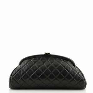 Chanel Timeless Clutch Quilted Lambskin