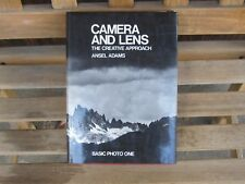 SIGNED Ansel Adams CAMERA AND LENS:The Creative Approach BASIC PHOTO ONE HC DJ