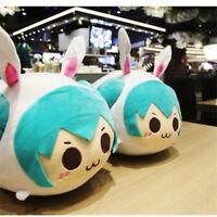 Vocaloid Hatsune Miku Stuffed Pillow Cushion Plush Doll Toy Anime Xmas Kids Gift