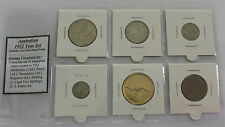 1952 Australian Year Set Incl. Gold Plated Penny (6 coins)