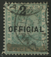 British Guiana  1881  Scott # 100  USED