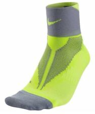 Nike Elite Running Calze unisex Lightweight Quarter Volt Uk 3.5-5 EUR 36-38