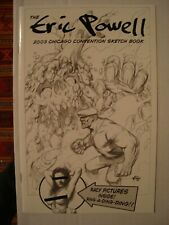 Eric Powell Goon 2003 Chicago Comic Con Sketchbook #787/1000 Signed & #'d NM+