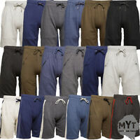 MYT Mens Plain Zip Pocket Shorts Cotton Fleece Sweat New Designs Modern S - 2XL