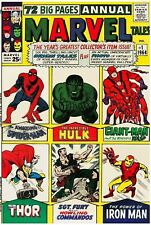 Marvel Tales #1 Facsimile Reprint Cvr Only w/Orig Ads Key Reprints 1st Solo Keys