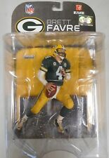 Brett Favre McFarlane NFL Series 17 figure NEW SEALED 2008 Green Bay Packers