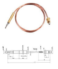 """Propane Gas thermocouple 35"""" BBQ Grill Oven Pit Heater M8x1 end nut and Head"""