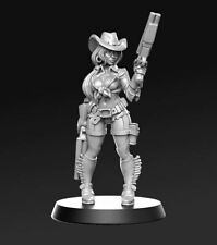 RPG Miniatures of women for warhammer, board and role-playing games PART 2