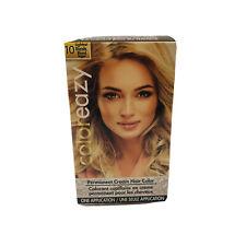 Color Eazy #10 Light Blonde Cream Permanent Hair Color, 1 box