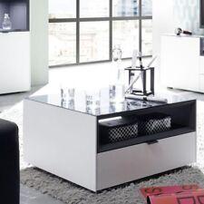 Tisch Neu Wohnzimmertisch Couchtisch 70 weiß matt lack anthrazit Esstisch Rollen