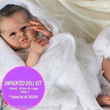 "Lainey reborn baby doll kit ~ Baby kit to make a 18"" baby doll ~ Blank kit DIY"