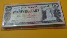 P30d   Guyana     20  Dollar  1996   UNC 100Pcs/1Bundle