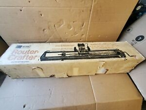 Vintage NOS Sears Craftsman Router Crafter Brand New Model 9 2525