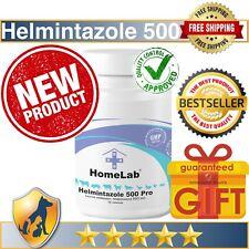 72 Capsules Helmintazole 500 Fenbendazole 500mg Tablets Panacur Safe Guard Fende