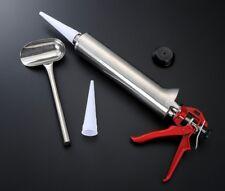 Stainless Steel Building Cement Grout Mortar Caulk Gun Applicator Hand Tool