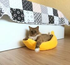 Banana Cat Bed House