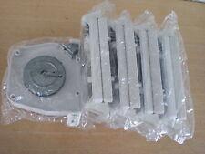 5 Stück Gurtwickler Gurtroller Aufschraubwickler Mini Aufputz Weiß Rolladen Mini