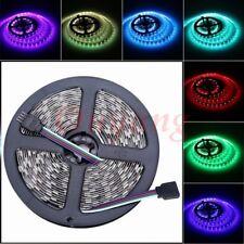 RGB LED Strip  Diode Tape 5050 SMD 5M 300LEDS Flexible Light 12V NP White PCB