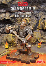 DUNGEONS & DRAGONS COLLECTOR'S SERIES MINIATURES FIRE GIANT LORD Hasbro Wizards