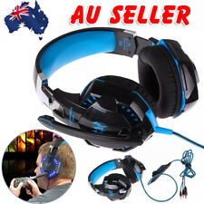 Gaming Headset MIC LED Headphones Surround for PC Laptop PS4 Xbox One OZ SELLER