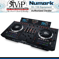 Numark NS7III 4-Channel Motorized DJ Controller & Mixer w/ Screens NS7-3 4-deck