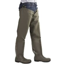 Amblers As1003tw Forth Unisex Thigh Safety Wader Steel Toe Cap S5 Work Footwear Green 10