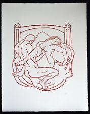 "ARISTIDE MAILLOL - GRAFIK - "" DEEPER IN "" ( 1939 )"