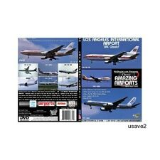 Airutopia Los Angeles LAX Airport Airplane Aircraft DVD Video-Brand New Sealed