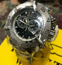 New Invicta Subaqua Noma III Swiss Made Chronograph 52mm Stainless Steel Watch