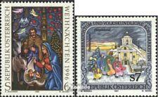 Oostenrijk 2207,2208 postfris 1996/97 Kerstmis, Folklore