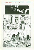 Marvel team Up #6 Josh Hood Original Comic Art Page #5 Spider-Man Sub-Mariner