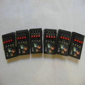 Bilusocn 6PCS 4Cues Fireworks Firing System Music Special Effec Radio Fire Ignit