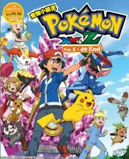 Pokemon Series : XY & Z  DVD (Eps.1-49 end) with English Subtitle