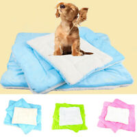 Winter Dog Cushion Mat Soft Puppy Sleep Bed Kennel Warm Thick Pet Blanket Pad I1