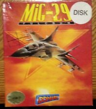 Mig-29 Fulcrum for 1040 ST Computer New Disk Euro Small Box