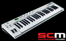 ASHTON UMK49 49 KEY USB MIDI KEYBOARD SOFTWARE CONTROLLER NEW with WARRANTY