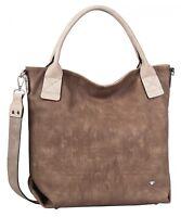 TOM TAILOR Jessy Shopper Schultertasche Handtasche Tasche Brown Braun Neu