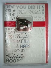 """""""YOU DID IT!"""" 3D GRADUATION GREETING CARD + RED ENVELOPE"""